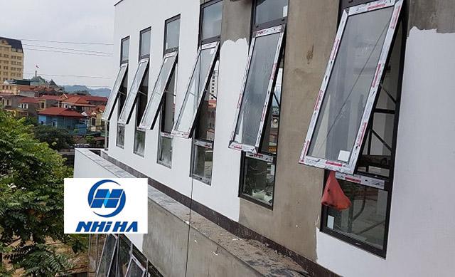Thiết kế cửa sổ mở hất nhôm Xingfa