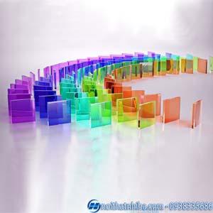 kính cường lực có mấy màu