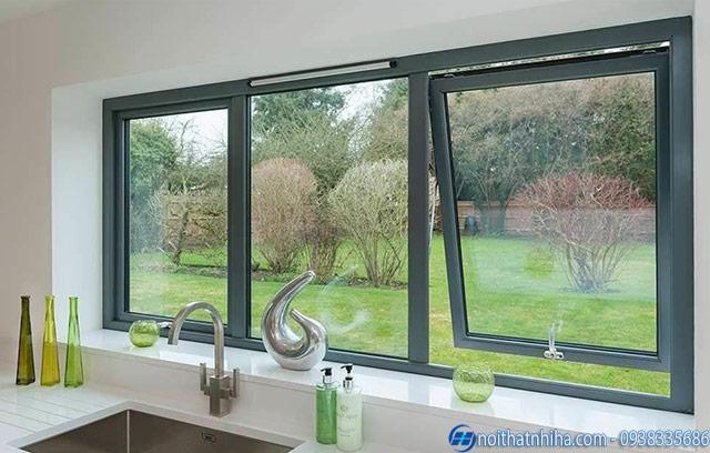 Giải pháp chống hắt mưa cho cửa sổ