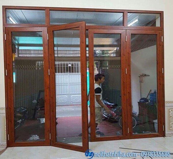 Cửa nhôm Việt Pháp hệ 450