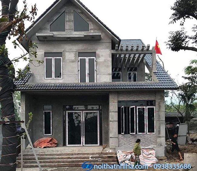 Mẫu cửa nhôm Đông Á