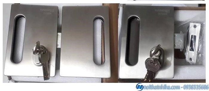 các loại khóa cửa kính cường lực cao cấp-2