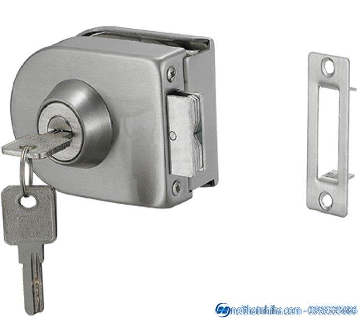 các loại khóa cửa kính cường lực cao cấp-3