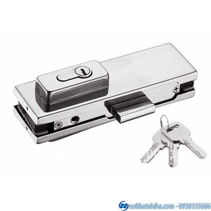 các loại khóa cửa kính cường lực cao cấp-7