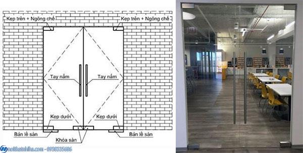 cửa bản lề sàn 2 cánh-15