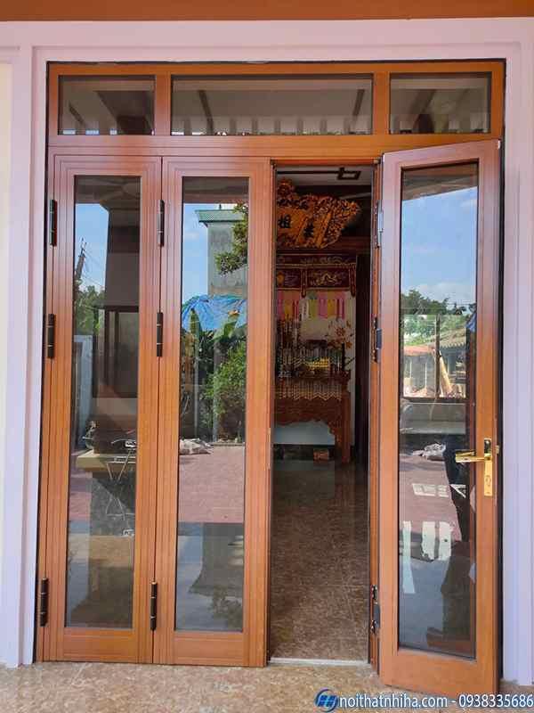 cửa nhôm xingfa 4 cánh