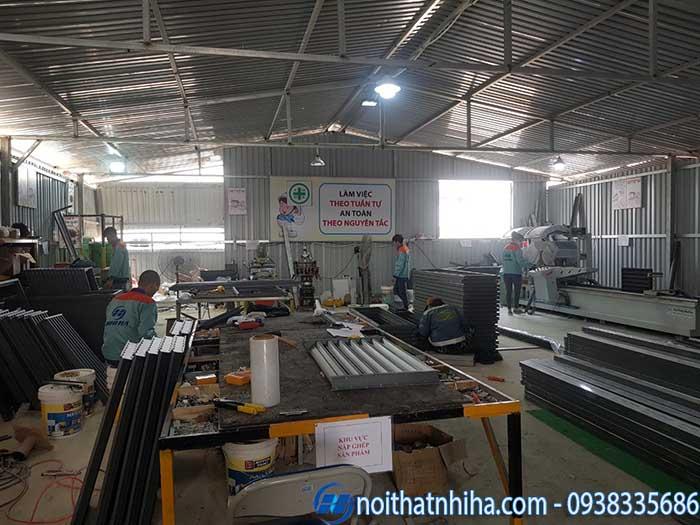 quy trình sản xuất cửa nhôm kính-3