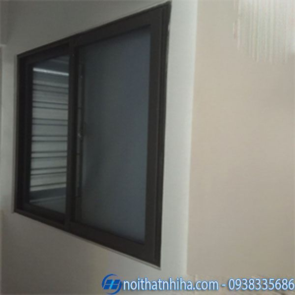 Các loại nhôm làm cửa - Mẫu cửa sổ nhôm Việt Pháp hệ 4400