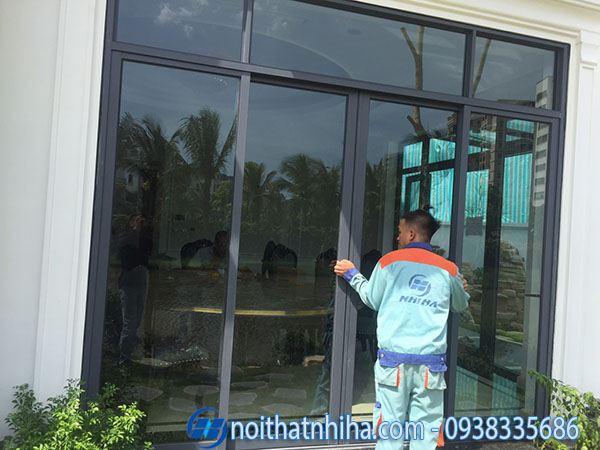 Các loại nhôm làm cửa - Công ty Nhị Hà thi công lắp đặt cửa nhôm kính tại Long Biên