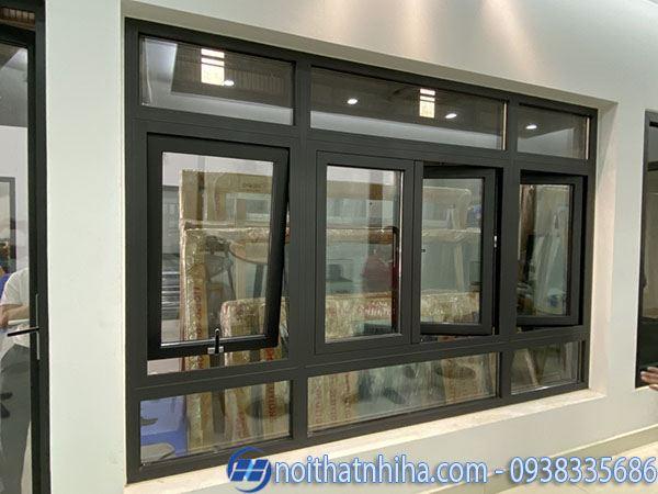 Các loại nhôm làm cửa - Mẫu cửa sổ nhôm Hopo hiện đại