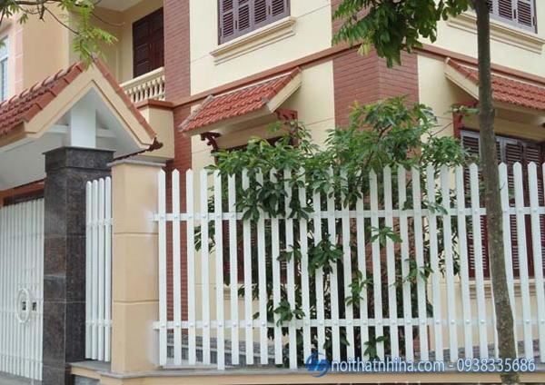 Cổng hàng rào sắt đẹp