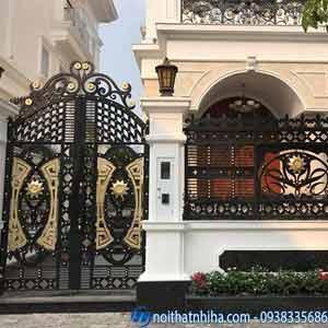 cổng hàng rào sắt
