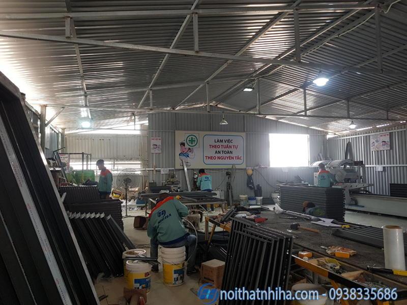 Cửa nhôm kính tại Minh Khai Hai Bà Trưng