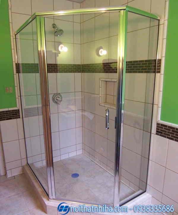 Phòng tắm kính 135 độ mẫu 1