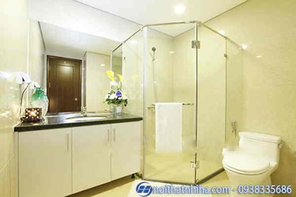 Phòng tắm kính vát mẫu 3