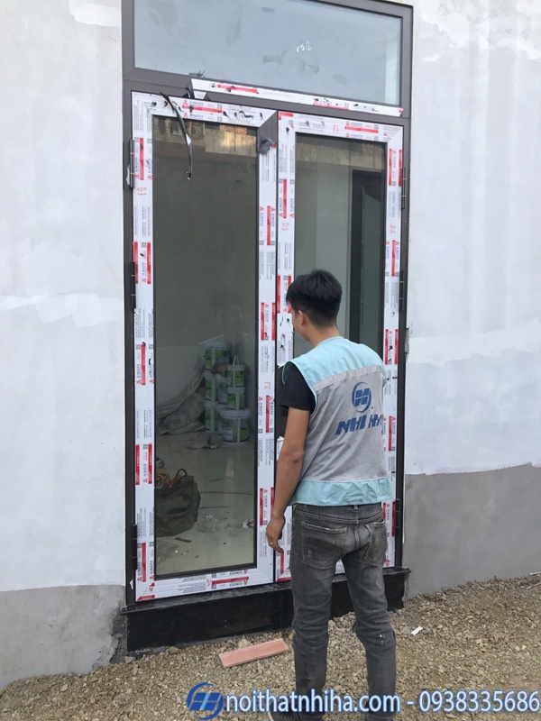 Cửa nhôm xingfa nhập khẩu tại Hải Phòng