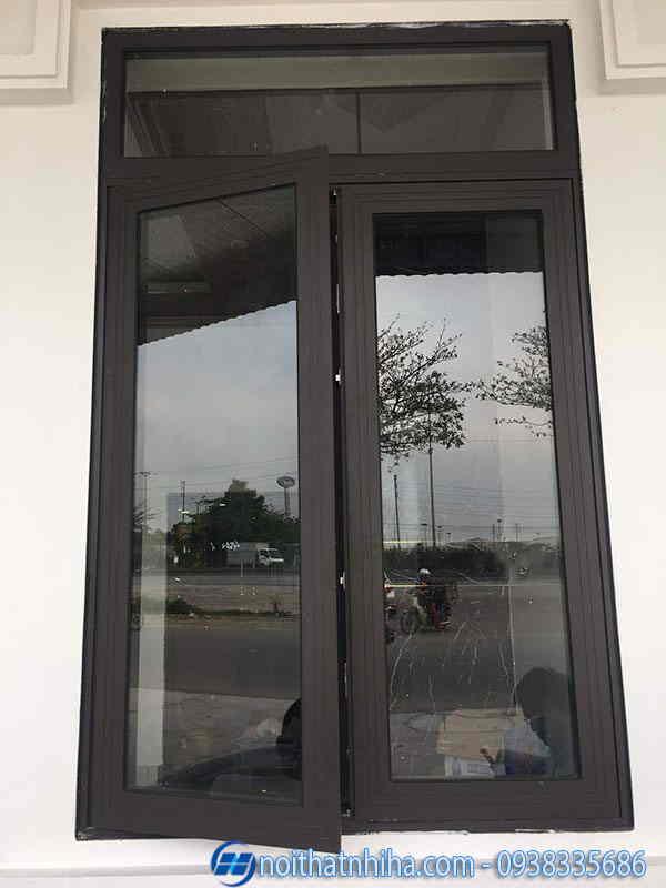 Cửa sổ nhôm Xingfa kính phản quang