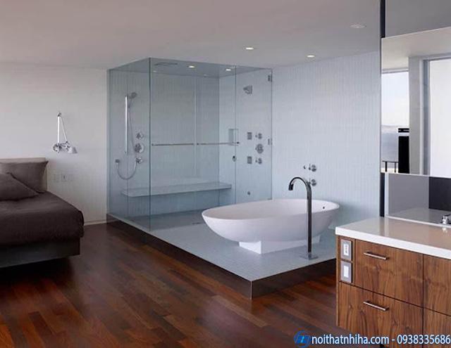 Cabin tắm kính cường lực đẹp