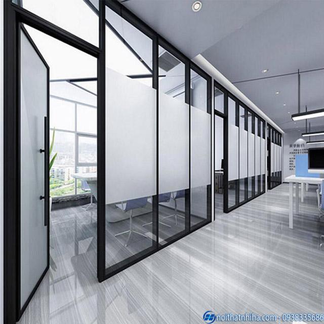 Cửa vách nhôm kính cho văn phòng đẹp