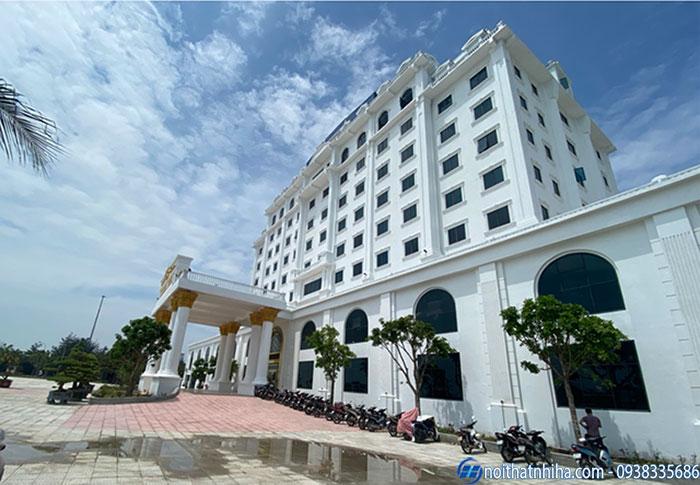 Cửa nhôm kính Hải Phòng lắp đặt cho khách sạn