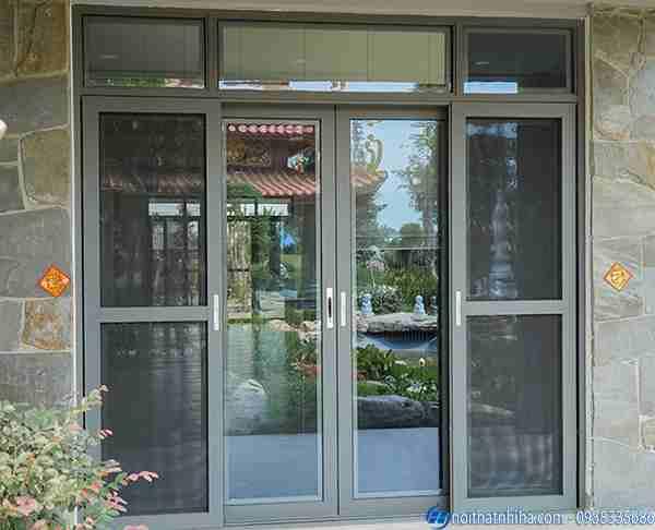 Lắp đặt cửa nhôm kính tại Hoài Đức Hà Nội chất lượng