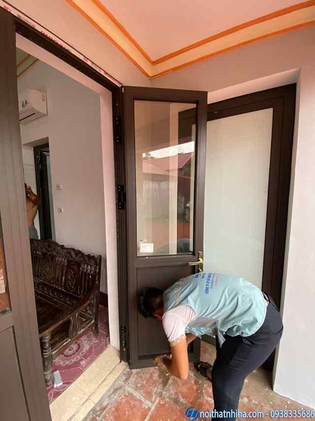 Thi công lắp đặt Cửa nhôm kính tại Hưng Yên chất lượng cao