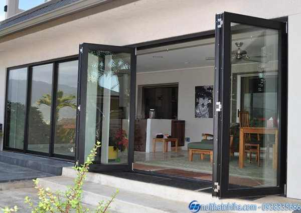 Báo giá thi công cửa nhôm kính tại Long Biên Hà Nội