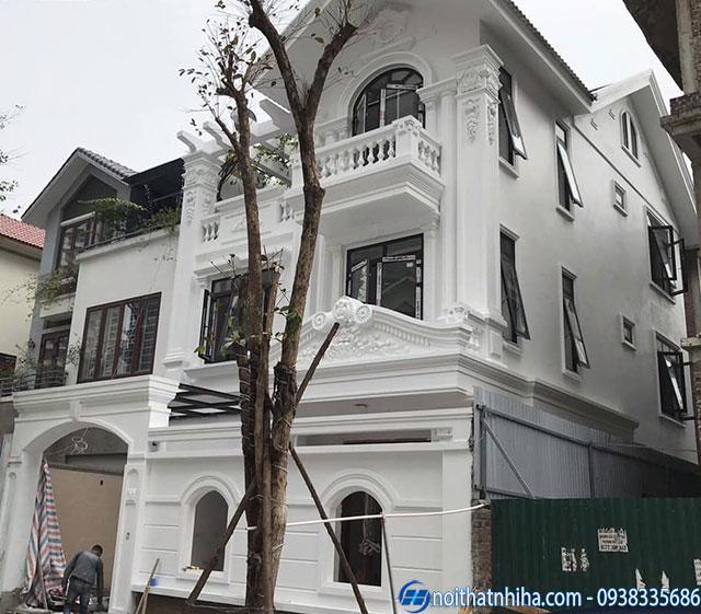 Công trình cửa nhôm kính tại Long Biên
