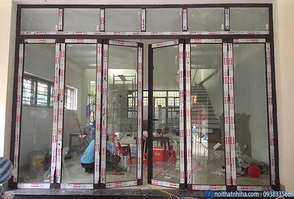Nhận lắp đặt cửa nhôm xingfa tại Hoàng Mai Hà Nội uy tín chất lượng