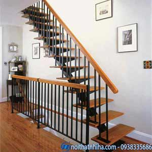 lan can sắt cầu thang