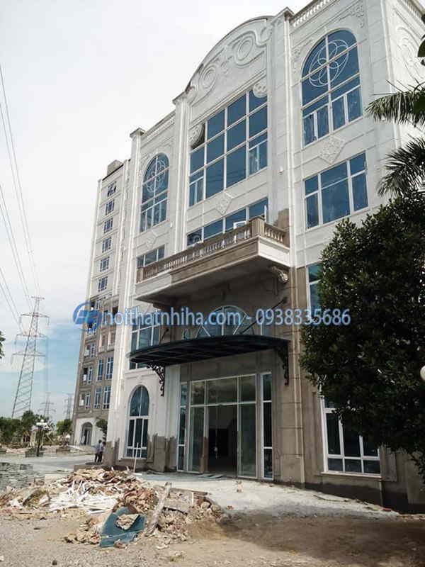Vách kính cố định nhôm Xingfa cho kiến trúc hiện đại