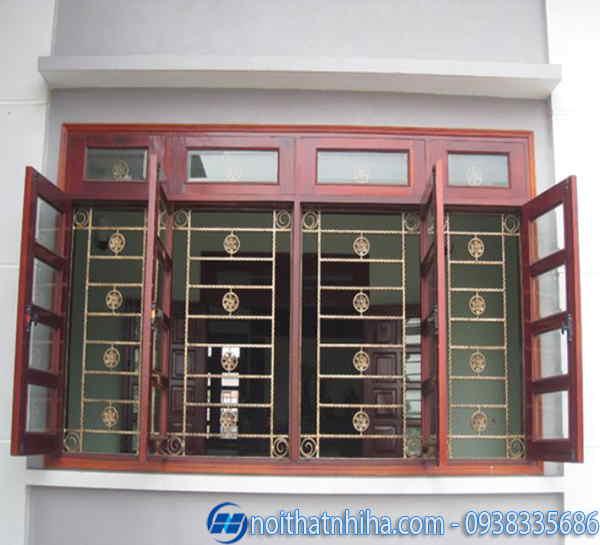 khung bảo vệ cửa sổ đẹp, đơn giản