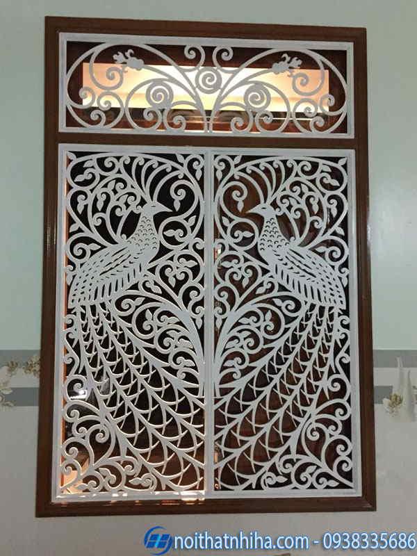 khung bảo vệ cửa sổ sắt cắt CNC