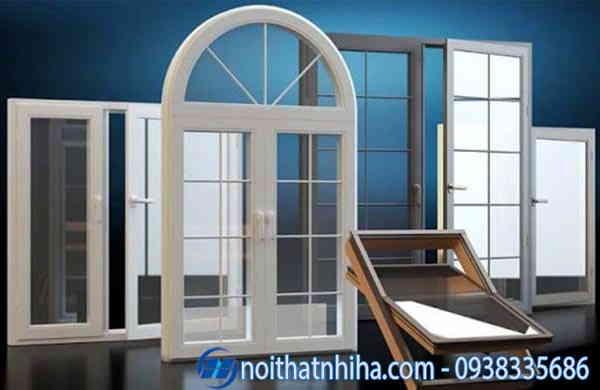 Cửa sổ nhôm kính 2 cánh đẹp sang trọng