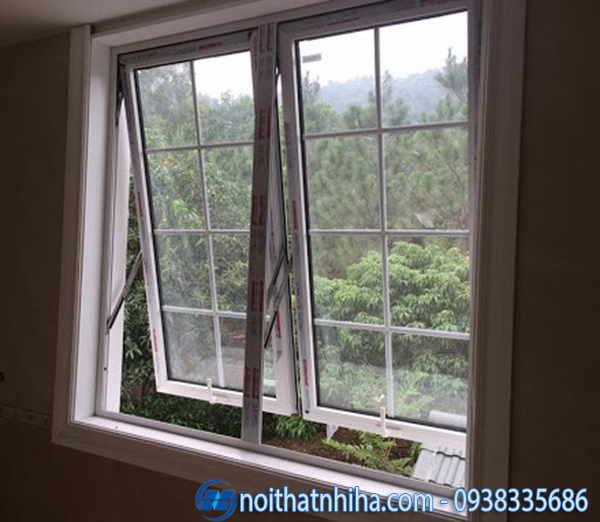 Nhôm Xingfa hệ 55 cửa sổ mở hất