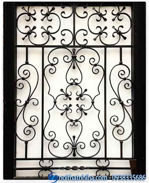khung bảo vệ cửa sổ sắt mỹ thuật