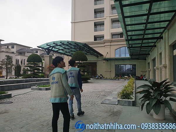 Mái kính cường lực tại Quảng Ninh