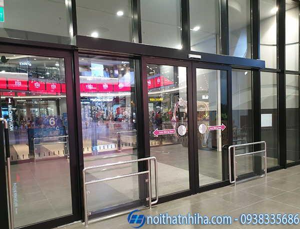 Cửa tự động tại Quảng Ninh Nabco Nhật Bản