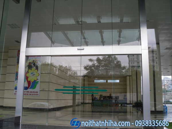 Cửa tự động tại Quảng Ninh 2 cánh