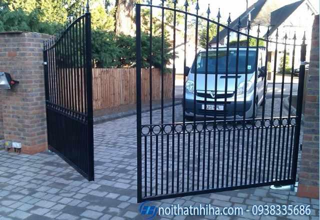 cổng tự động cổng tự động âm sàn cổng tự động cánh tay đòn cổng lùa tự động