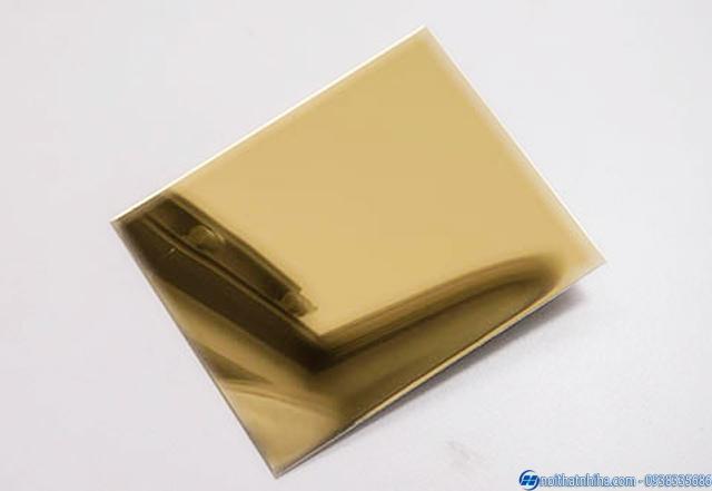 inox vàng gương