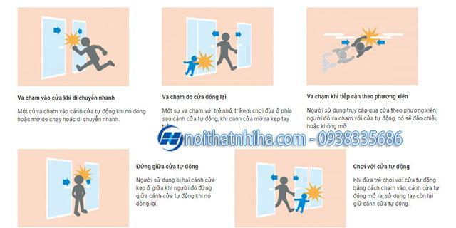 Hướng dẫn sử dụng cửa tự động an toàn