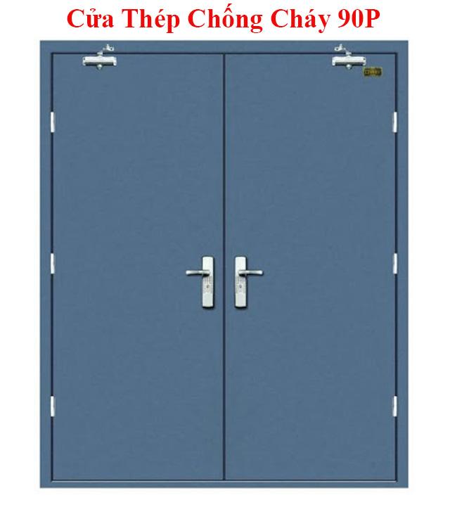 cửa thép chống cháy 90P