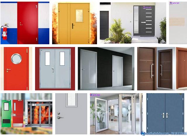 Tổng hợp một số mẫu cửa thép chống cháy đẹp 2021