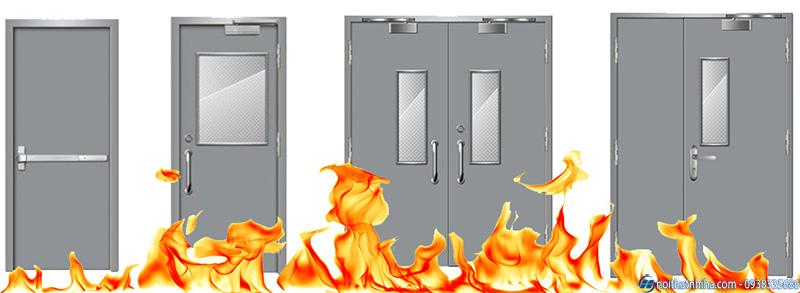 cua thep chong chay 9 1 cửa thép chống cháy