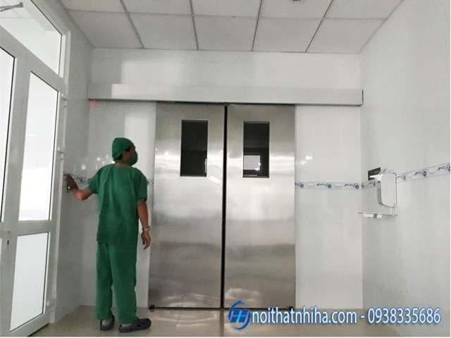 Cửa tự động cực kỳ quan trọng trong các phòng mổ bệnh viện