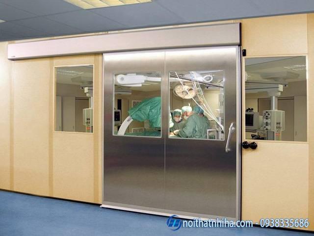 Cửa tự động phòng mổ cao cấp hiện đại