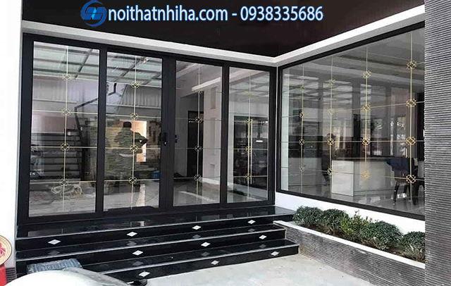Công trình sử dụng hệ thống cửa nhôm kính tại Hà Nội sang trọng, hiện đại