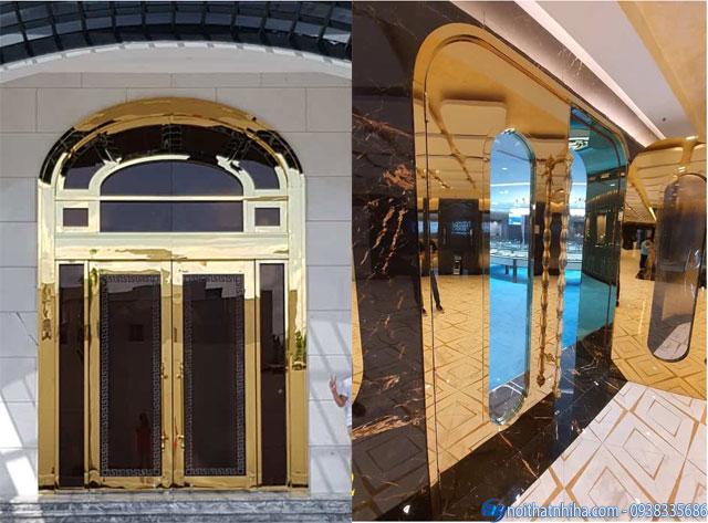 Nhị Hà thiết kế thi công cửa kính khách sạn chất lượng cao
