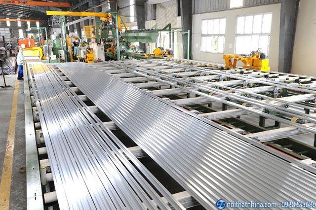 Nhà máy sản xuất Nhôm Hyundai